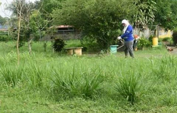 Realizan trabajos de mantenimiento en Arraiján
