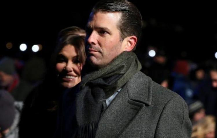 La novia del hijo mayor de Trump da positivo a COVID-19, según medios locales