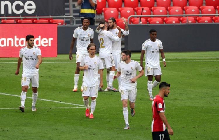 0-1. Sergio Ramos, de penalti, acerca al Real Madrid al título