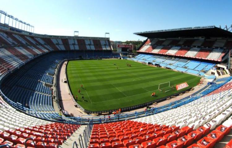 El último aliento del estadio Vicente Calderón