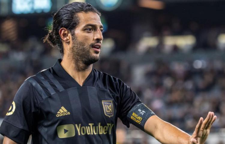 LAFC no tendrá a Carlos Vela en la 'burbuja' de Orlando