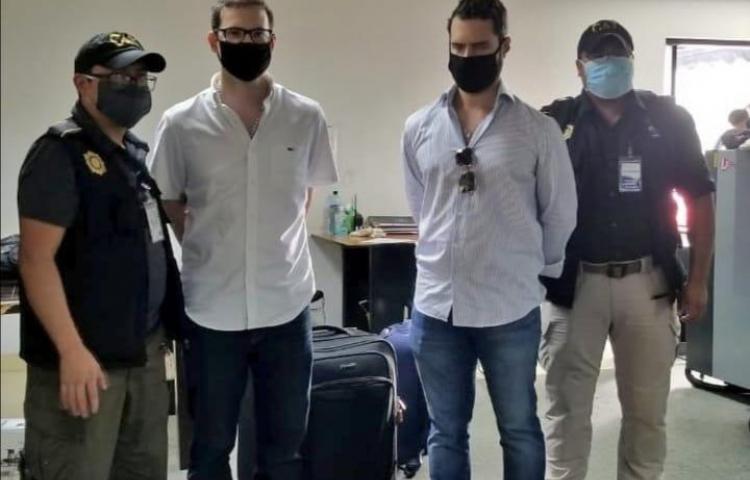 Piden postura de Parlacen sobre detención de hijos de Martinelli en Guatemala