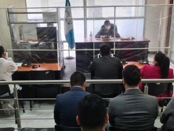 Realizan audiencia de primera declaración a los hijos de Martinelli en Guatemala