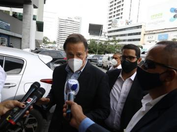 Indagatoria a expresidente Varela entra en receso