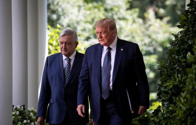 Frases para la historia del encuentro de López Obrador y Trump