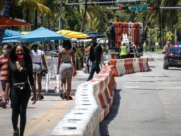 EE.UU., Brasil y México siguen encabezando incremento de contagios en América