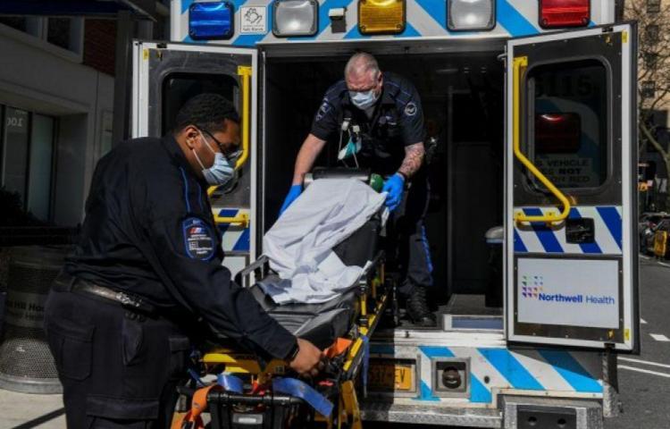 Estados Unidos registró 60.646 casos de coronavirus en un solo día