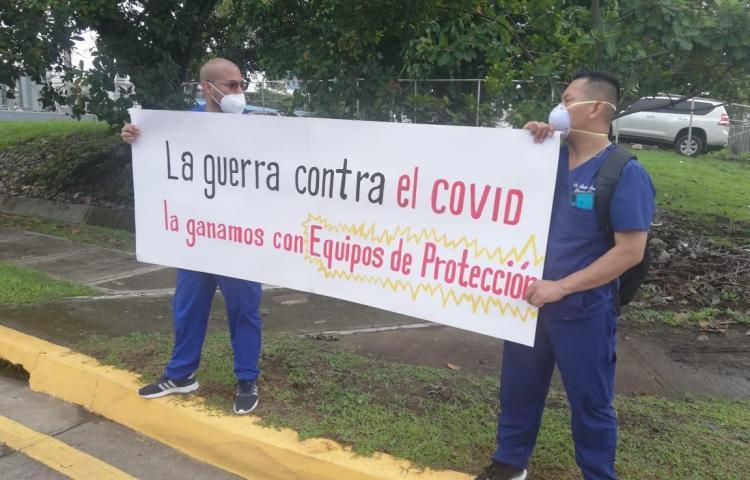 """""""Sin médicos no hay salud para nadie"""", dicen profesionales del Hospital Rafael Hernández"""