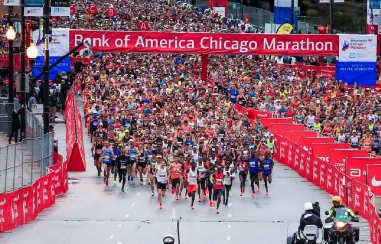 El maratón de Chicago, cancelado