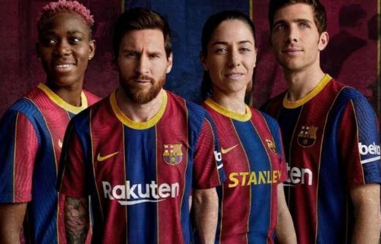 Barcelona presentó su nueva equipación