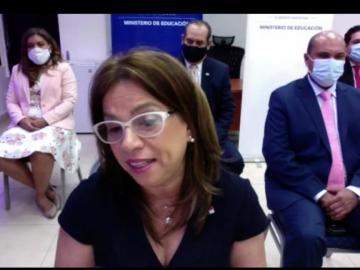 """""""Este procesoestá planificado, no ha sido improvisado"""", Maruja Gorday de Villalobos"""