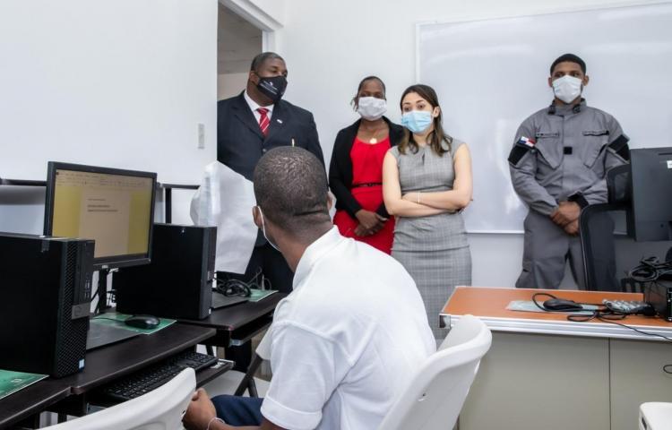 Autoridades inspeccionan Centro de Custodia para Adolescentes en Colón