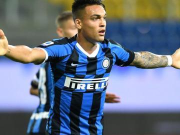 """Lautaro: """"Siempre trato de dar el 110 % por el Inter"""""""