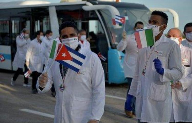 Médicos cubanos llegan a Islas Vírgenes y Monserrat en ayuda contra covid-19