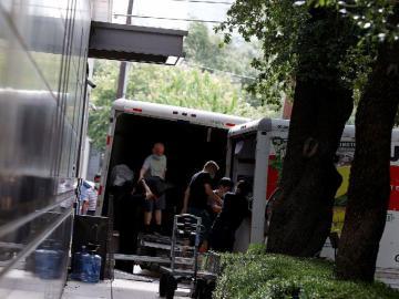El consulado chino en Houston hace las maletas