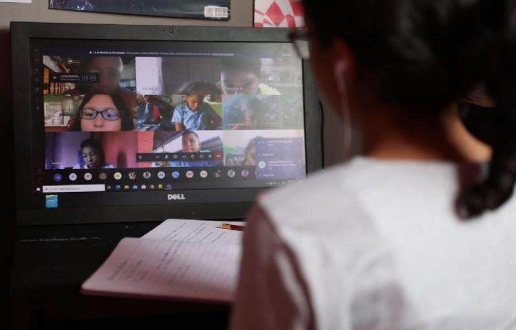 Despelotes en las clases virtuales