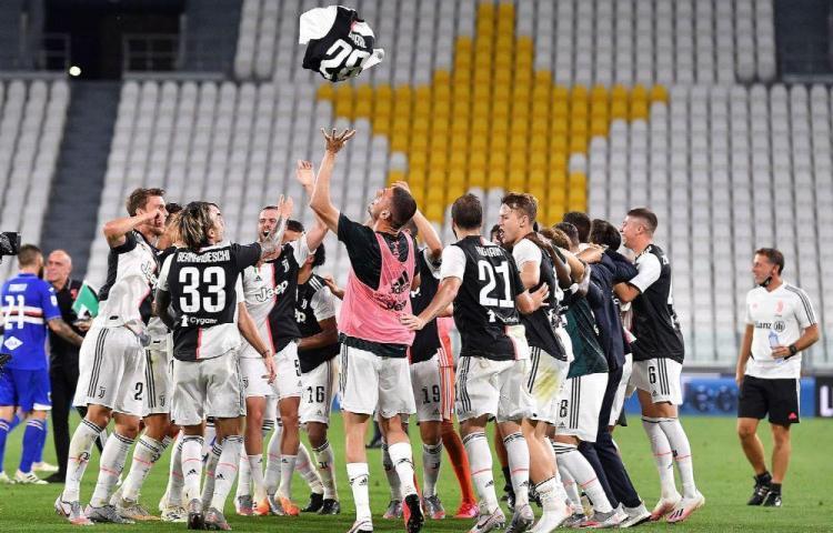 La Juventus se corona por novena vez en Italia