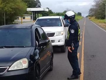Policía Nacional coloca más de 1,500 infracciones