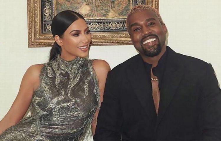 Kim y Kanye West viven separados.