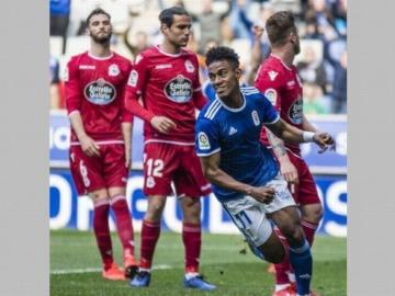 Bárcenas quiere seguir vistiendo la camiseta del Oviedo