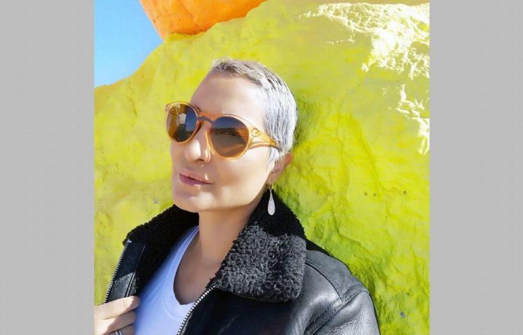 Marisela emprende proyecto de turbantes