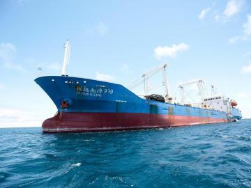 EE.UU. apoya los esfuerzos de Ecuador para evitar la pesca ilegal de barcos chinos