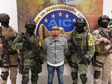 Cae 'El Marro', peligroso capo del Cártel de Santa Rosa de Lima