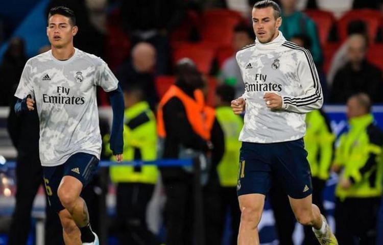 Bale y James no viajan a Manchester