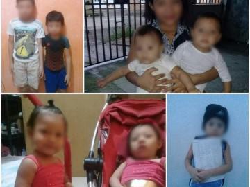 Drama de una familia guna:No tienen nada para alimentar a sus 8 hijos