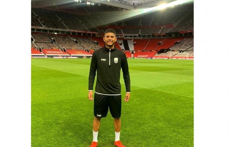 Andrade vive su sueño en el Old Trafford
