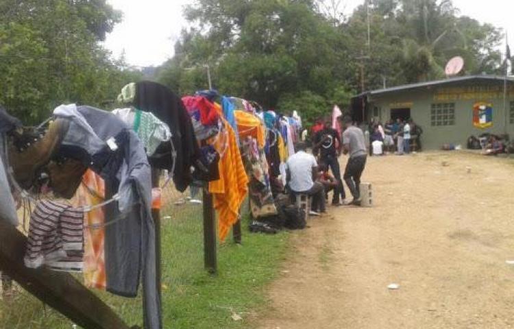 Juez ordena detención provisional para 12 haitianos en Darién