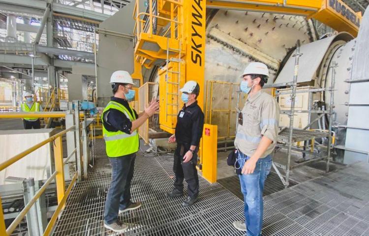 MICI y CSS hacen inspección en Minera Panamá