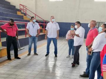 Reactivan obras deportivas en Coclé