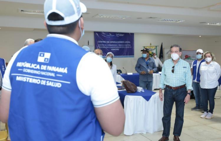 Cortizo anuncia que el Figali comenzará a recibir los pacientes de covid-19