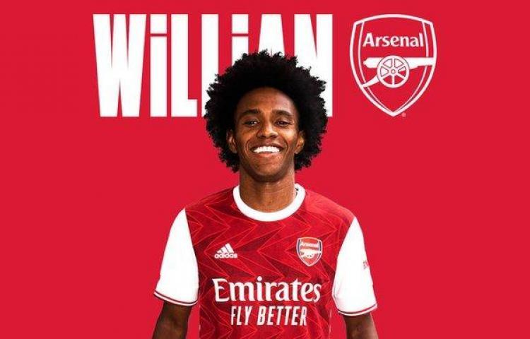 El brasileño Willian ficha por el Arsenal