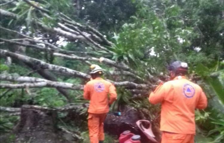 Sinaproc emite aviso de prevención por paso de onda tropical #29