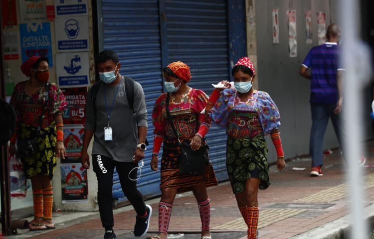 Gunas varados en la capital retornarán a sus comunidades en septiembre