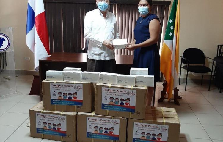 Entregan donación de insumos en San Carlos