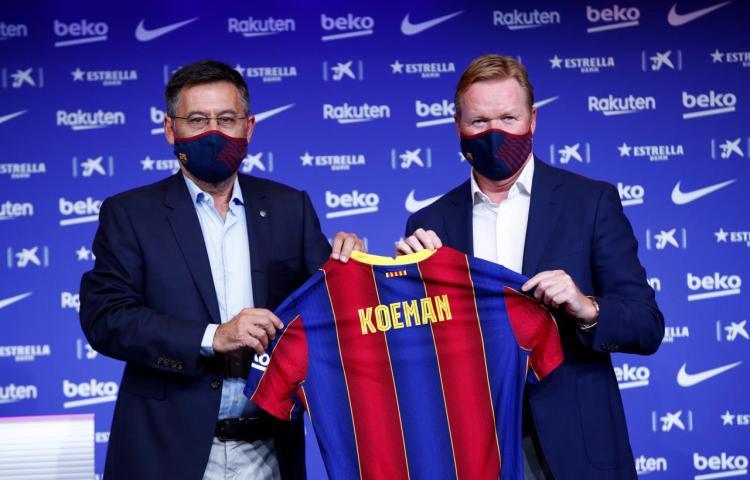 """Koeman: """"Me encantaría trabajar con Messi, porque él gana partidos"""""""