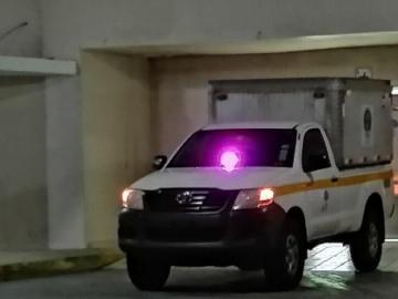 Subteniente muere tras volcarse patrulla en vía Panamericana