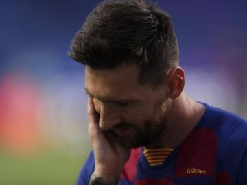 Messi le dice a Koeman que se ve más fuera que dentro del Barça