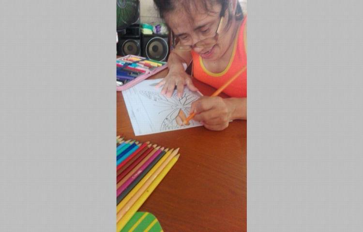 Niños con discapacidad reciben clases virtuales