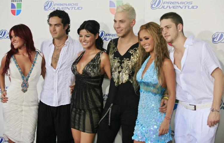 La banda mexicana RBD anuncia que su música estará disponible en plataformas