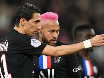 Neymar, Di María y Paredes son los positivos del PSG