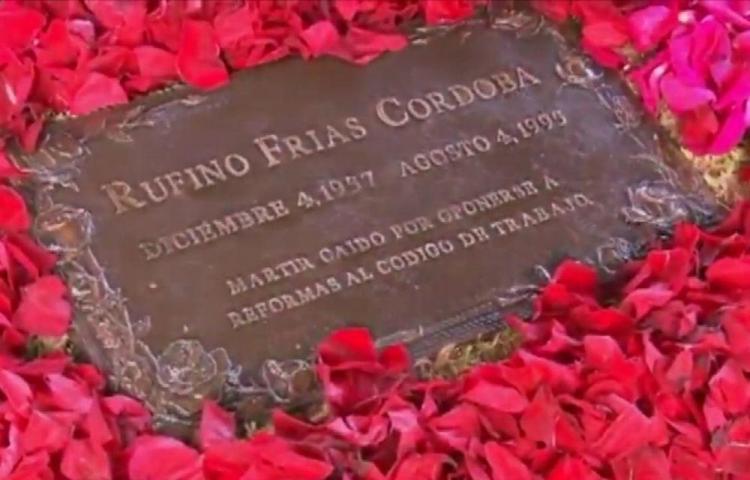 ¿Quién mató a Rufino Frías? ¡ La muerte tenía un precio!