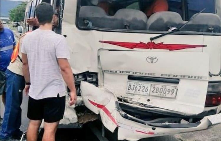 Se registra accidente en Chame, hay seis heridos