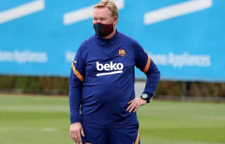 """Koeman: """"Messi en su forma física es importantísimo"""""""