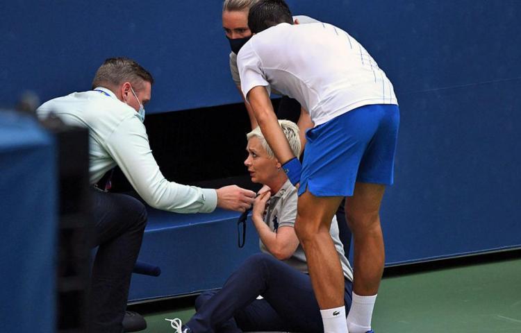 """Djokovic, sobre su descalificación: """"Estuve en 'shock' durante dos días"""""""