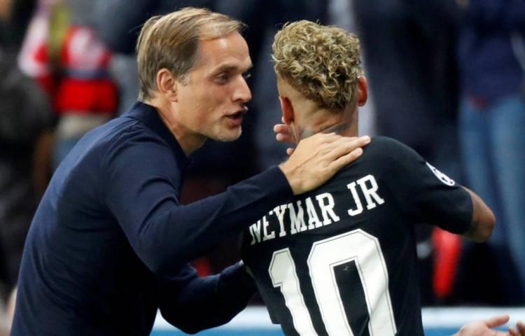 Tuchel inquieto por posibles sanciones a Neymar