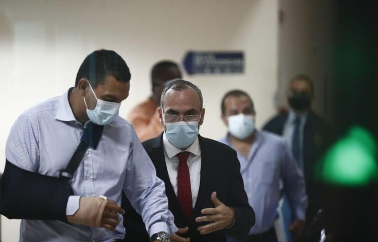Rolando López 'Picuiro' asiste a audiencia por el caso Operación Furia